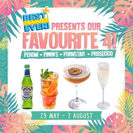Summer Drinks Offer