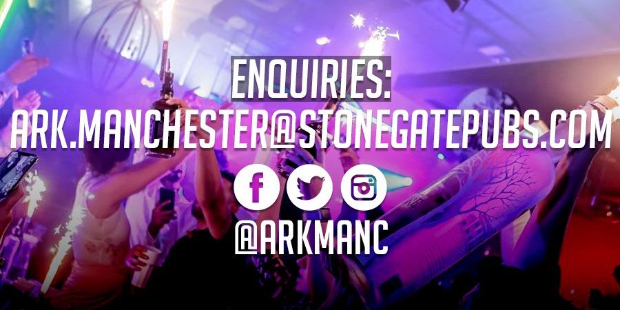 Ark Manchester Booking Enquiries