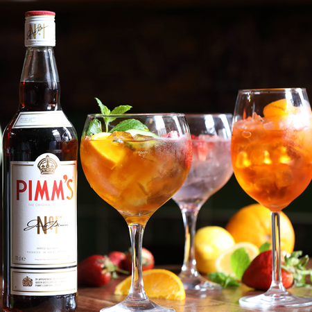 Pimms at Danson Stables