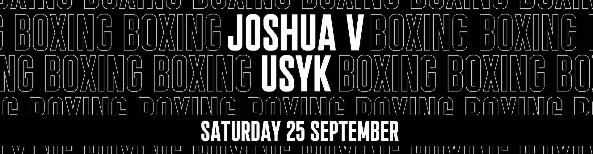 Anthony Joshua vs Usyk