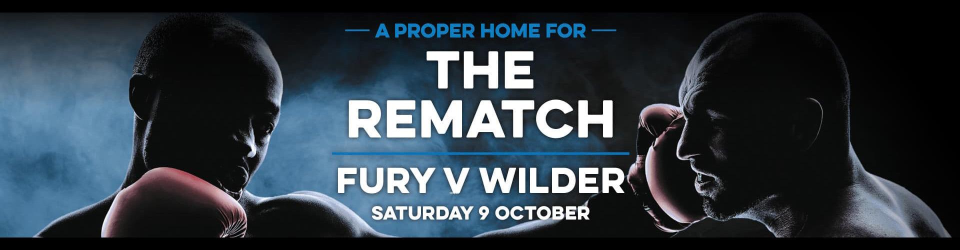 Watch Tyson Fury vs Deontay Wilder in Romford