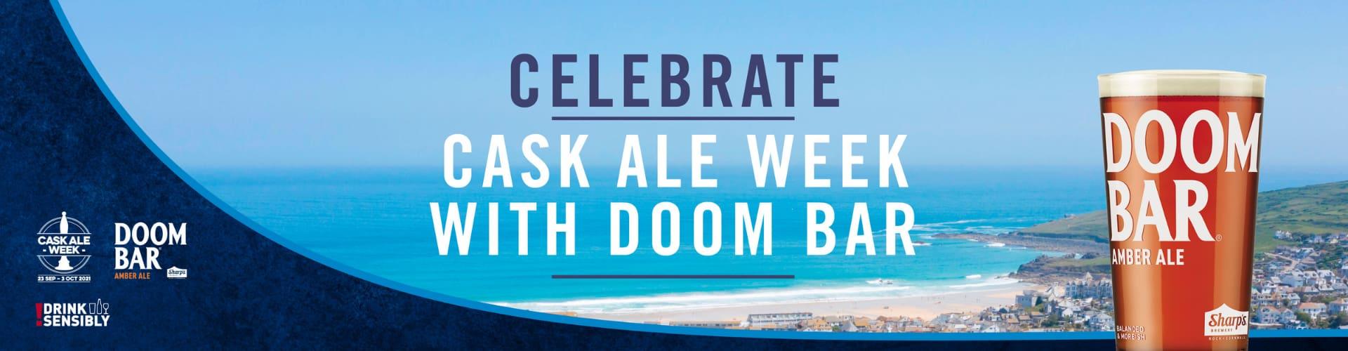 Celebrate Cask Ale Week with Doom Bar