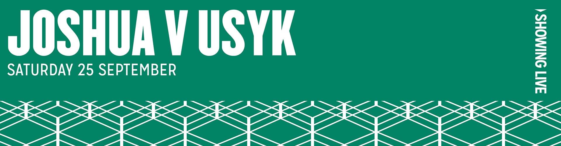 Watch Anthony Joshua vs Usyk Live