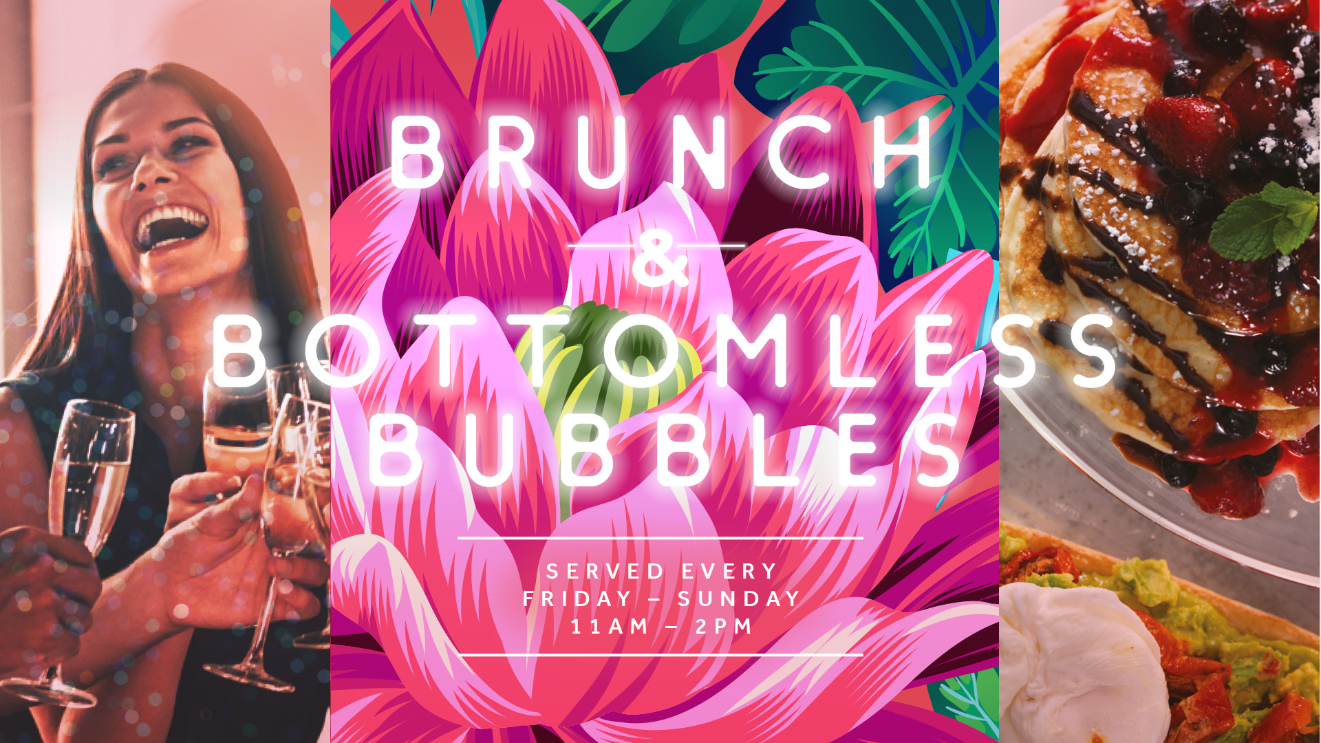 Bottomless Brunch at Slug & Lettuce