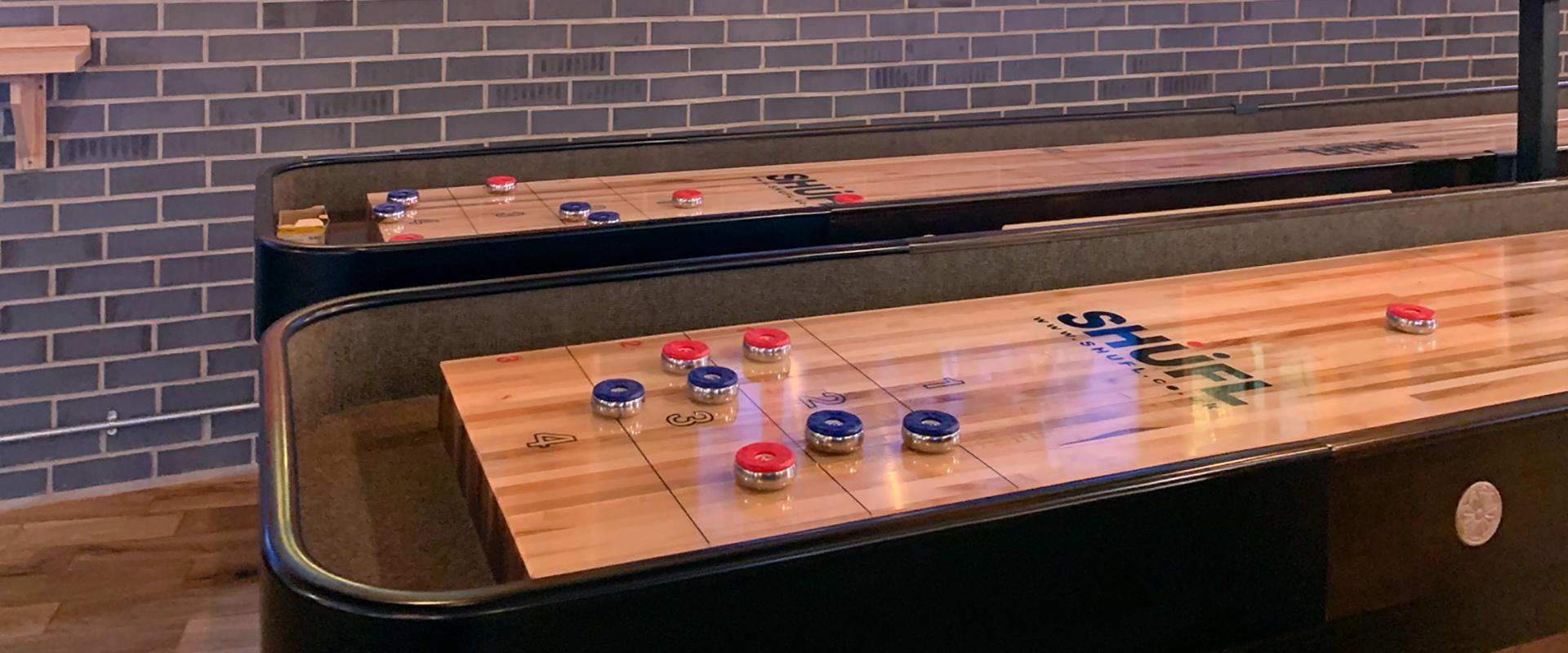 Shuffleboard at Sports Bar and Grill Marylebone