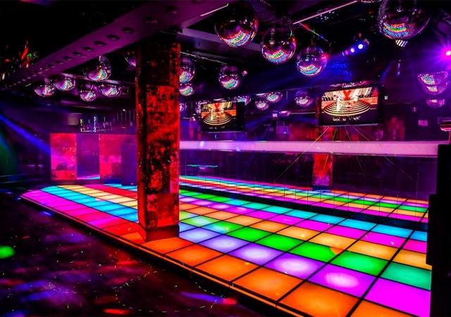 Zinc Disco Room