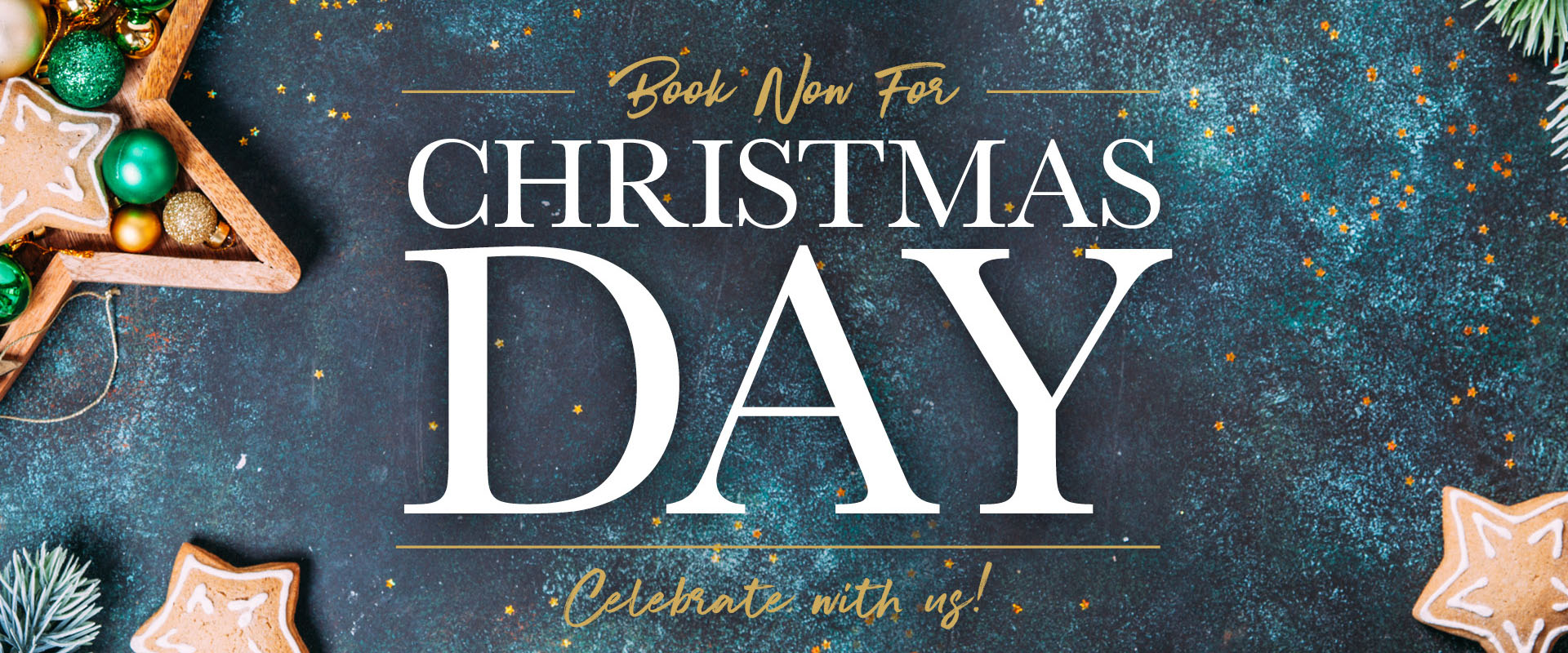 Book Your Christmas Day Dinner in Epsom