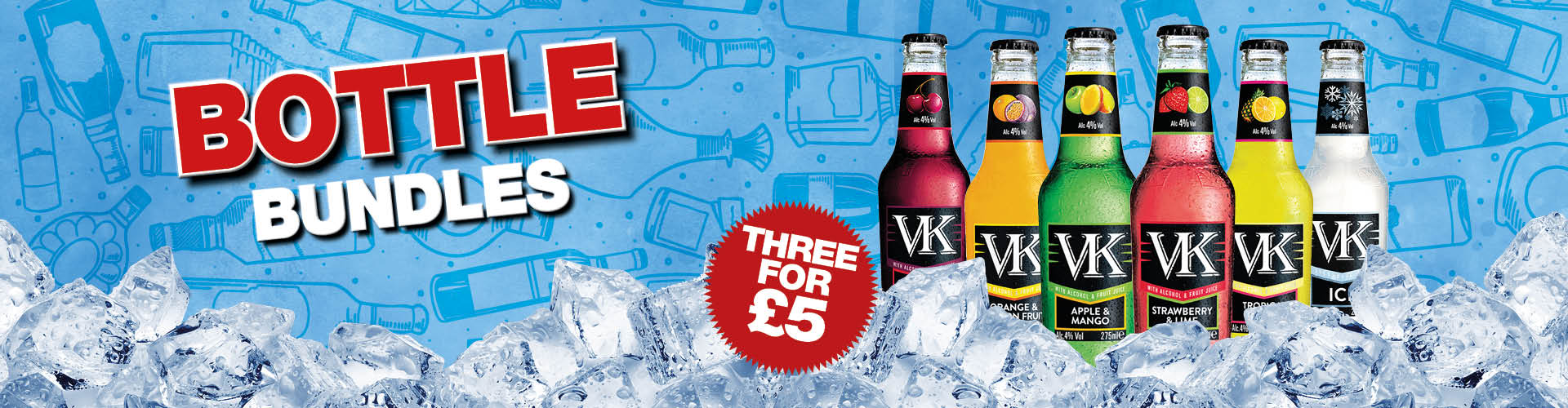 VK drink offers at your local Craft Union Pub